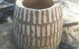 Как построить кирпичный тандыр?