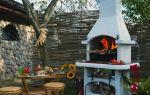 Делаем по фото зону отдыха на даче с мангалом