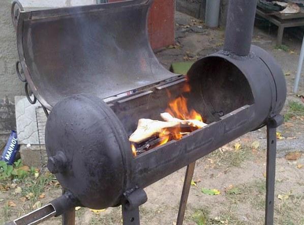 Фото мангала для приготовления шашлыков