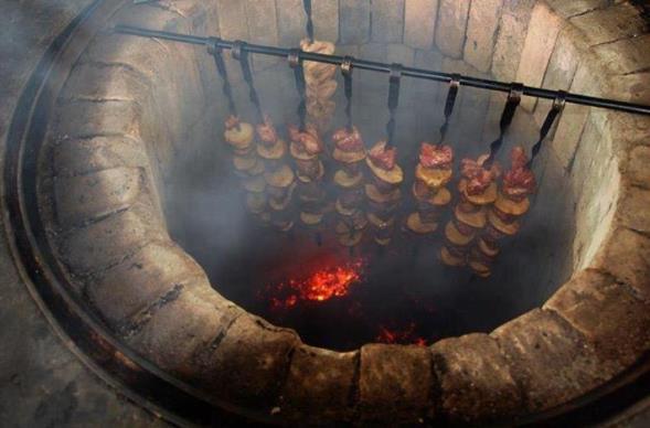 Фото дачного тандыра для шашлыка