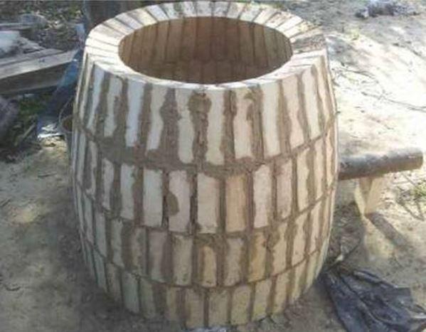 Фото тандыра в форме бочки