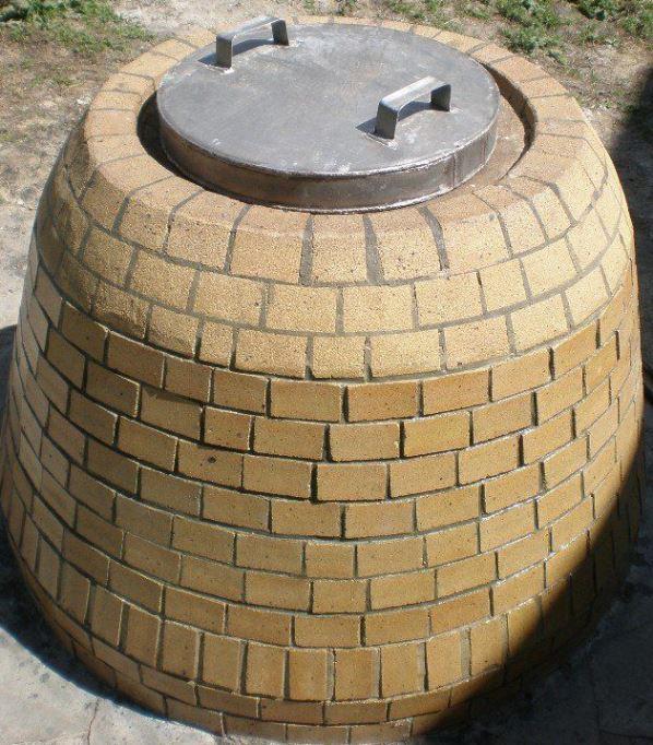 Фото тандыра купольной формы