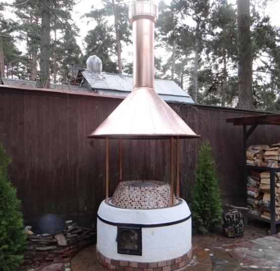 Дымоход вместо крыши