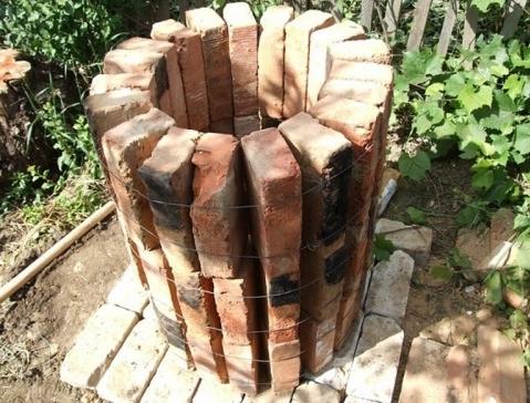 Фото тандыра в форме колодца