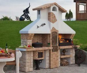 Как построить на даче барбекю своими руками